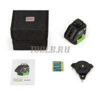 RGK PR-81G - лазерный нивелир (уровень) купить с доставкой по России и СНГ