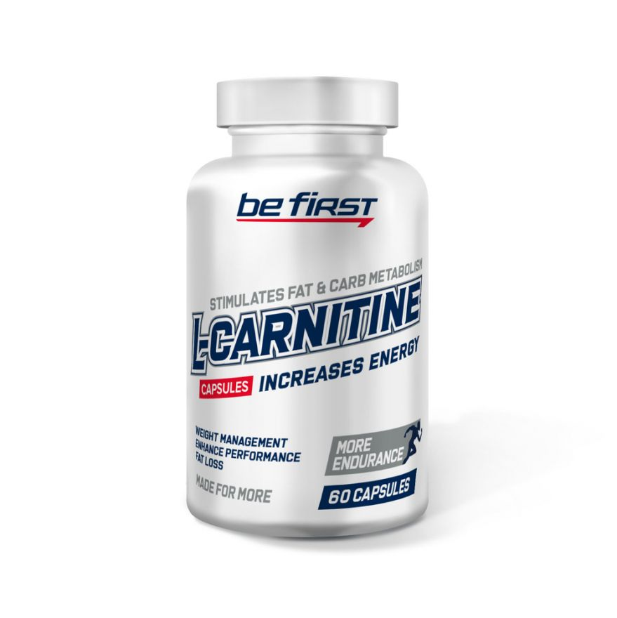 Be First L-Carnitine 700 мг 60 капсул