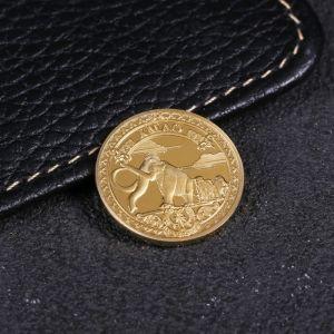 Монета «ХМАО», d= 2.2 см