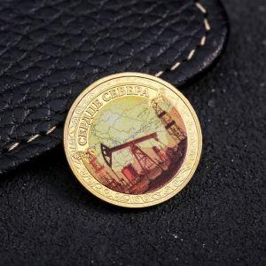 Сувенирная монета «Сердце севера», d=2.2 см