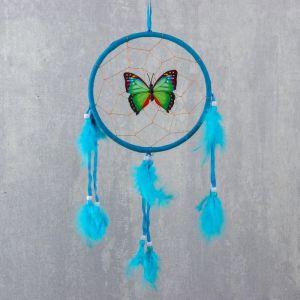 """Ловец снов """"Бабочка в паутинке"""" d=16 см МИКС 1517992"""