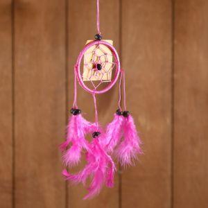 """Ловец снов """"Гармония"""" розовый 6х0,5х20 см   4584179"""