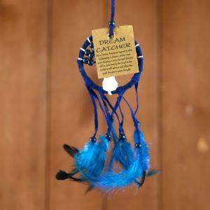 """Ловец снов """"Дерево"""" синий 6х0,5х20 см   4584198"""