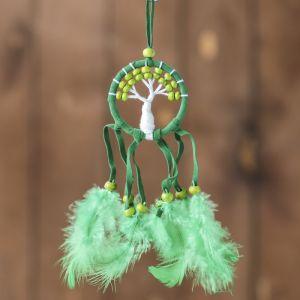 """Ловец снов """"Зеленое дерево"""" 0,5х7х25 см   4165918"""
