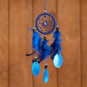 """Ловец снов """"Нежность"""" синий 6х0,5х20 см   4584197"""