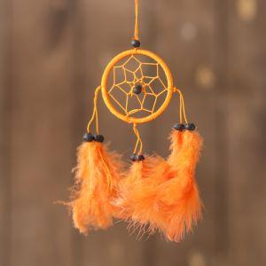 """Ловец снов """"Осенняя пора"""" оранжевый 0,5х6х25 см   4165905"""