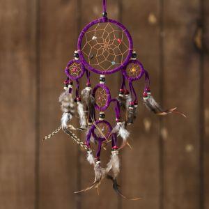 "Ловец снов ""Пять пурпурных колец"" 0,7х15х40 см   4165931"