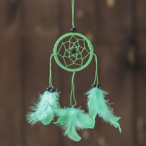 """Ловец снов """"Чистый воздух"""" зеленый 0,5х6х25 см   4165904"""