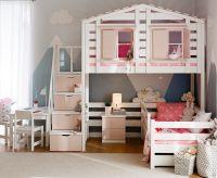 Кровать двухъярусная Домик Roof №40А