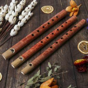 """Музыкальный инструмент бамбук """"Флейта"""" 30x2,5x2,5 см   4165860"""