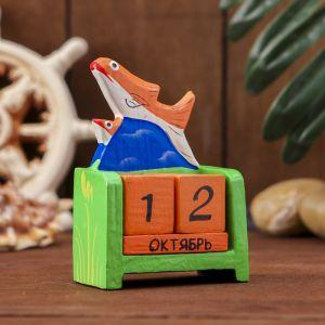 "Настольный календарь ""Рыбка"" 7х4х11 см   3370404"