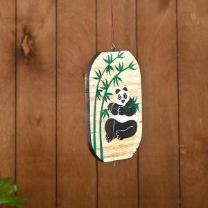 """Сувенир подвесной """"Панда"""" дерево 12х13х15 см   4575389"""