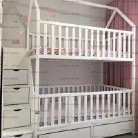 Кровать двухъярусная Домик Малинка Standard №31+