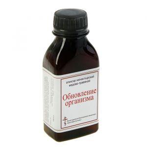 Эликсир монастырский «Обновление организма» 100 мл. 2787449
