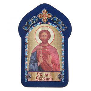 """Икона для ношения с собой """"Святой мученик Евгений"""""""