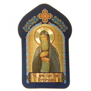 """Икона для ношения с собой """"Святой преподобный Антоний Печерский"""""""