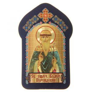 """Икона для ношения с собой """"Святой преподобномученик Вадим Персидский"""""""