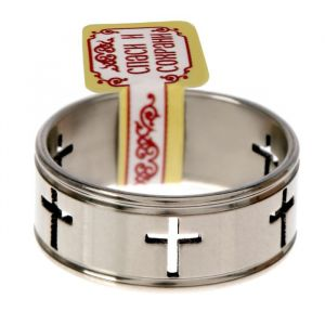 """Кольцо """"Кресты"""", размер 17 1592332"""