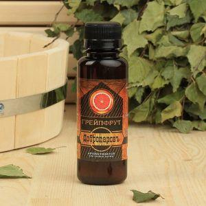"""Ароматическая смесь для бани и ванны «Грейпфрут», натуральная, 100 мл, """"Добропаровъ""""   2870497"""