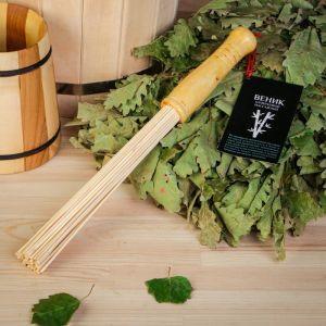 Веник для бани банный бамбуковый, малый 2854619