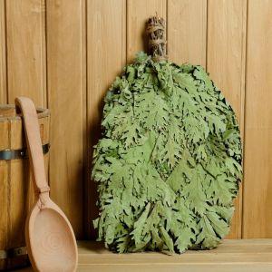 Веник для бани ЭКСТРА из кавказского дуба, в индивидуальной упаковке   4584083