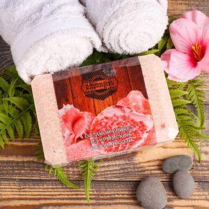 """Соляной брикет из крымской розовой соли, 1,35 кг """"Добропаровъ"""" 3519604"""