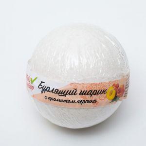 """Бурлящий шар """"Мой выбор"""" с Илецкой солью персик, 140 г   4362552"""