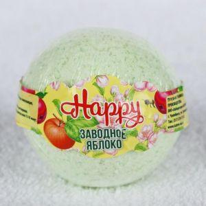 """Бурлящий шар Happy """"Заводное яблоко"""", 130 г 3998888"""