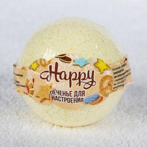 """Бурлящий шар Happy """"Печенье для настроения"""", 130 г 3998891"""