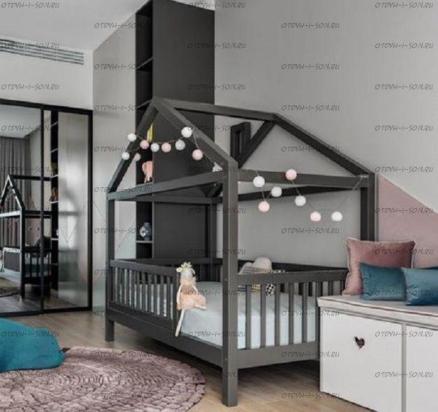 Кровать-домик Calipso №2, любые размеры и цвета