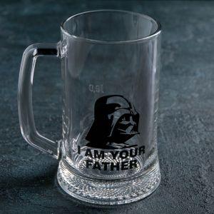 Кружка для пива «Звездные войны. Дарт Вейдер. Ладья» 500 мл