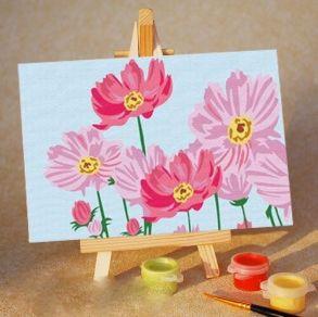 Раскраска по номерам «Цветы» 10x15 см