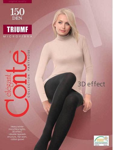 Женские колготки теплые CONTE Triumf 150 Den CON201