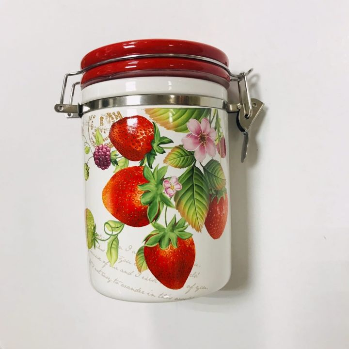 Банка д/сыпучих продуктов 850мл п/уп ягодное настроение