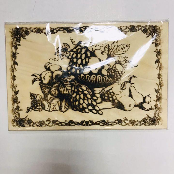 Доска разделочная Натюрморт MARMITON 37,5х25 см