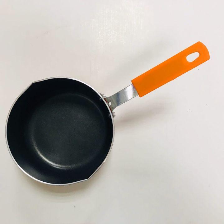 Ковш D14см, с антипригар. покрыт. металл, силикон.ручка