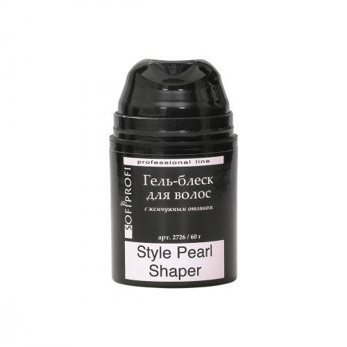Гель для укладки волос с жемчужным блеском STYLE PEARL SHAPER, 50 мл