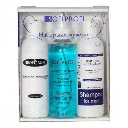 Набор косметический профессиональных средств для волос (мужской)