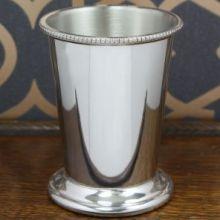 Традиционный  бокал из британского пьютера Мятный Джулеп Mint Julep Pewter Cup.