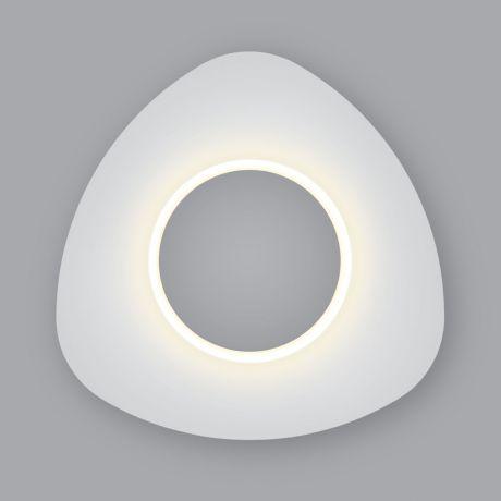Бра. Настенный светодиодный светильник Eurosvet (Евросвет) Scuro LED белый