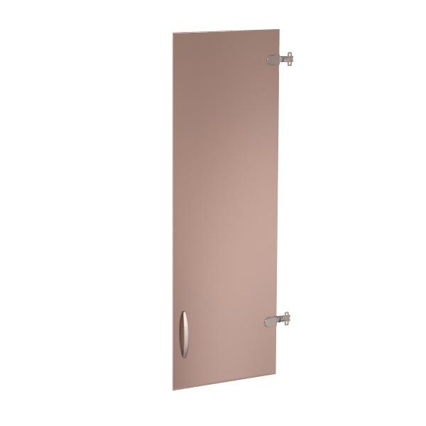 Двери стеклянные (3 секции) «Альфа» лев/прав