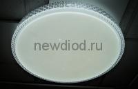 Управляемый светодиодный светильник PLUTON 630 120Вт-30м² 670мм пульт 6/3/4000K Oreol