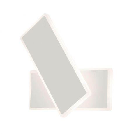 Бра. Настенный светодиодный светильник Eurosvet 90316/2 белый