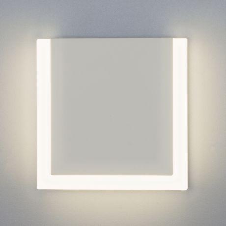 Бра. Настенный светодиодный светильник Eurosvet 40146/1 LED белый