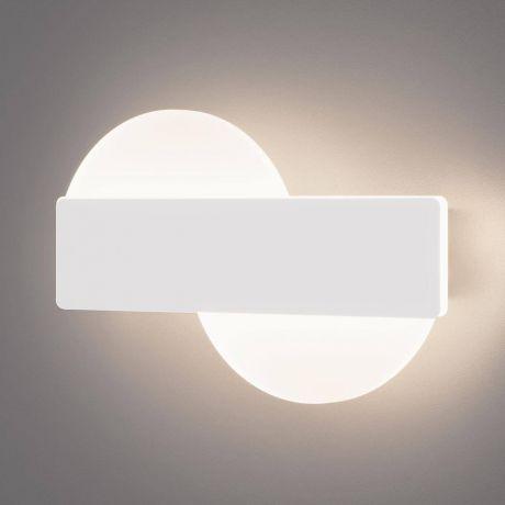 Бра. Настенный светодиодный светильник Eurosvet 40143/1 LED белый