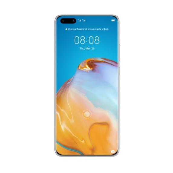 Huawei P40 Pro (мерцающий серебристый)