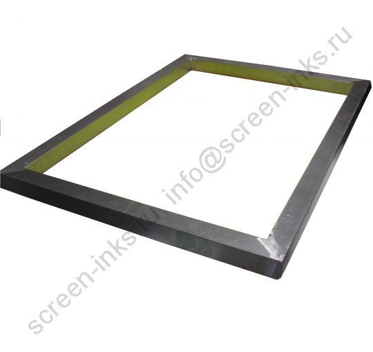 Рама трафаретная алюминиевая Hurtz, размер 500*600 (40*30/2,5 мм) внешний размер 580х680 мм