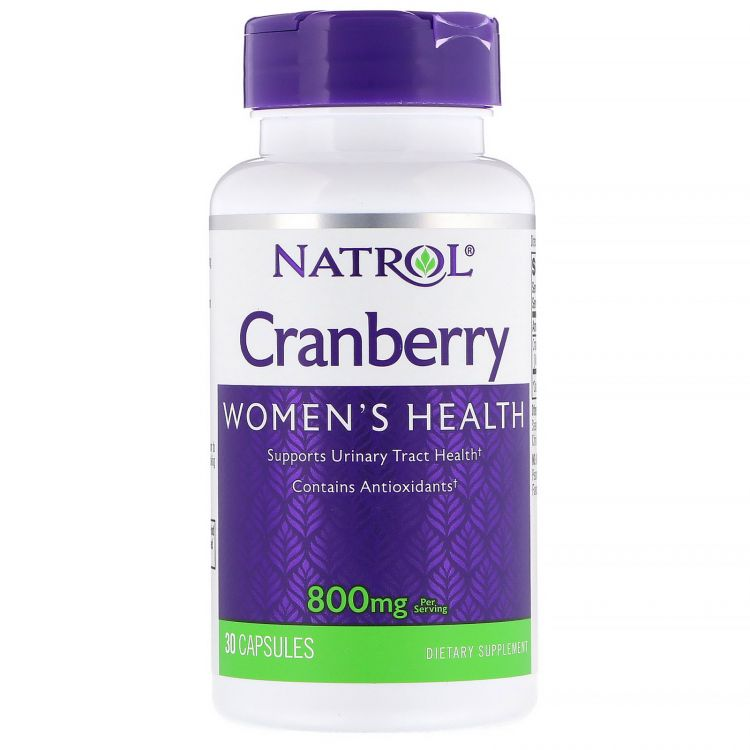 Cranberry от Natrol 30 капсул (экстракт клюквы)