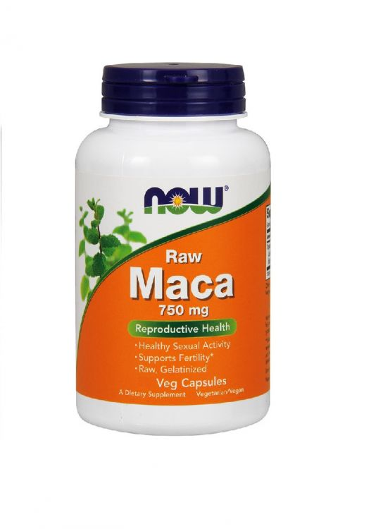 Maca 750 мг от NOW 30 капсул (мака перуанская экстракт)