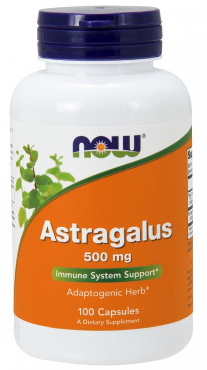 Astragalus от NOW 100 капсул (экстракт астрагала)
